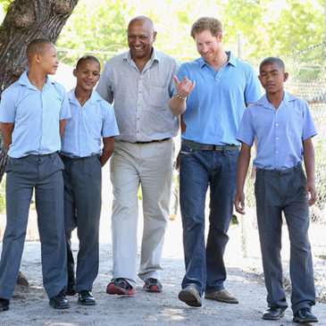 Prince Harry visited one of the projects of the Foundation